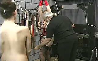 thick big a-hole bdsm lesbian is tortured by her