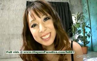 asuka sinless fascinating chinese hotty enjoys