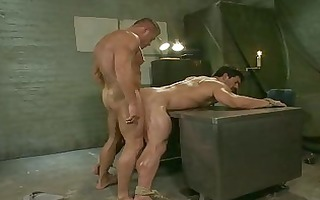 rock hard army homo hunk got tortured with