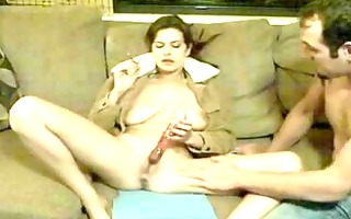 fucking smoking cheating wife and playing with
