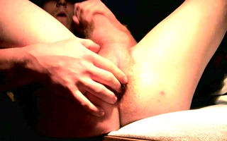 very youthful bi lad wanks and fingers