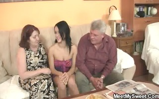 sinless girl is enticed by her boyfriends mamma