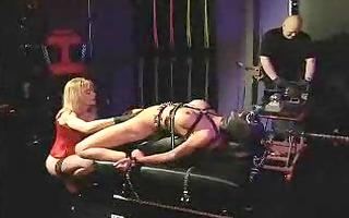 lesbian slavery and fucking machines