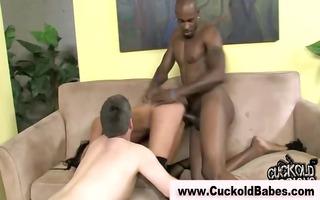cuckold femdom interracial hard large shlong fuck