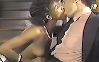 smutty retro movie scene with hawt sex fest