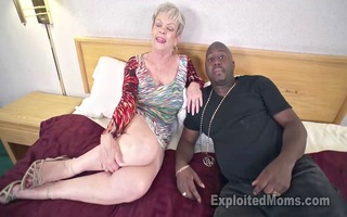breasty granny in creampie movie scene