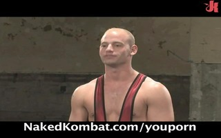stripped kombat: fighters engage in real combat