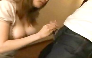 excited busty wife molested and fucked by ally