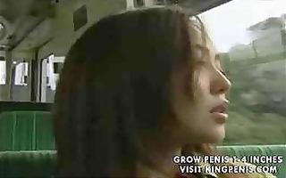 japanese lesbo bus sex part5