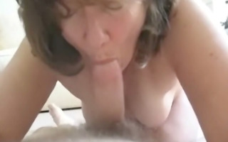 wife giving an oral stimulation stimulation