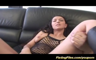 her st coarse anal fisting