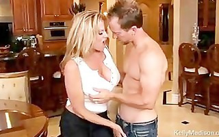 biggest titted sexy wife sucks and copulates her