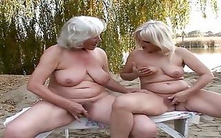 delightful lesbo grannies fervent cunt pleasure