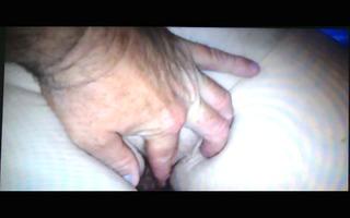 rubbing wifes big white shaggy rectal hole &;