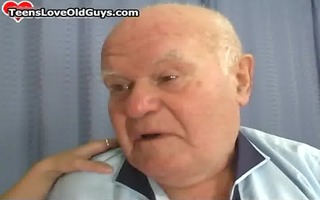 granddad acquires to have a enjoyment hawt time