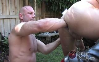 chad brocks large fist