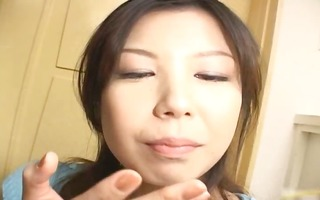 sexy japanese wench sucks wang like crazy part7