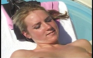 naked sun bathing leads to sex