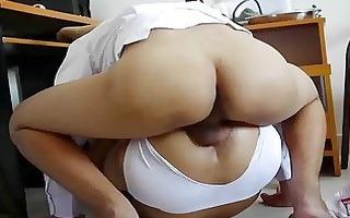 bad ass doctor pumping dat constricted thai arse