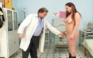 andrea visiting her gyno doctor for real snatch
