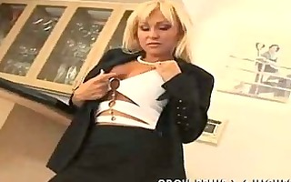 golden-haired mother i with tattoo anal