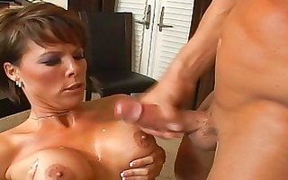 slutty dark brown mother i with large love