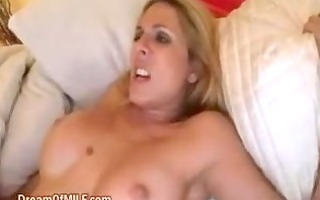 blond mother i gets a load of cum