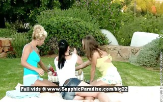 hailee and mischelle and mya from sapphic erotica