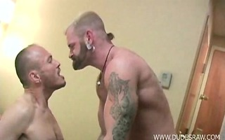 hirsute dad hunks tober brandt and jayson park