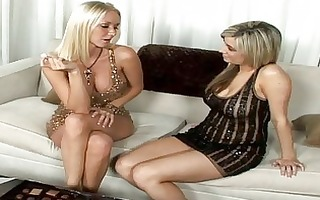 golden-haired playgirl pick up a hawt lesbo