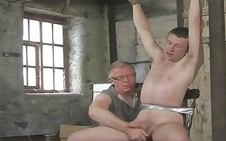 juvenile homosexual lad acquires tied and given a