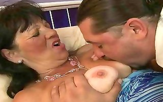 granny enjoying hard fucking