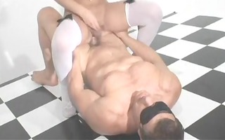 appealing golden-haired cd amazing fuck & suck
