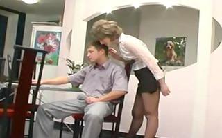 hose granny receives fellatio older aged porn