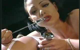 lesbo nurses acquire their vaginas stretched