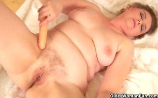 granny with big marangos and shaggy vagina