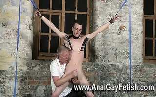 homo sex sean mckenzie is thonged up and at the