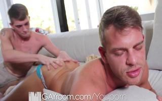 hd - gayroom hardcore ass fucking for a sexy boy