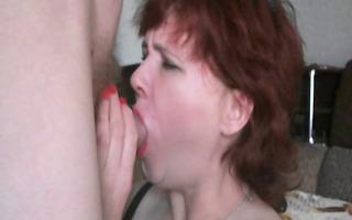 redhead older wife