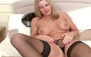 breasty mother i slut masturbating in dark