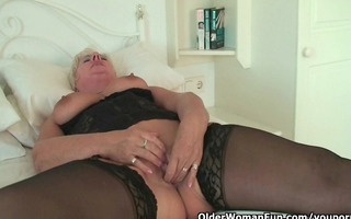 breasty and curvy grandma sandie collection