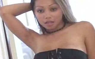 hawt oriental striping from her corset