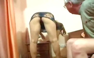 old daddy drilled his sons youthful italian wife