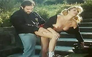 nasty teenies screwed outdoors in a vintage scene