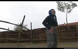 old village granny goes wild