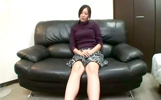 hot oriental mother i showing off assets and