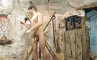 twink villein breaks out for threesome hard