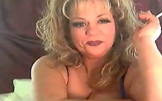 hot hot older cougar smokin solo ii