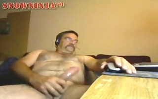 unshaved verbal dad perving out