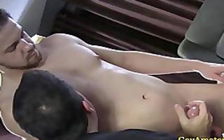 dilettante str boy receives pounder sucked